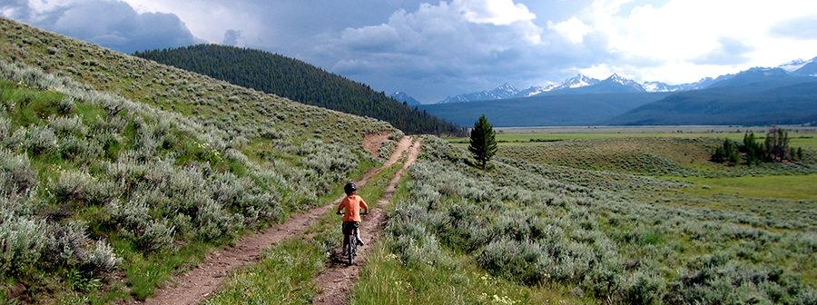 Idaho Rocky Mountain Ranch Biking
