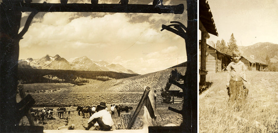 Idaho Rocky Mountain Ranch History