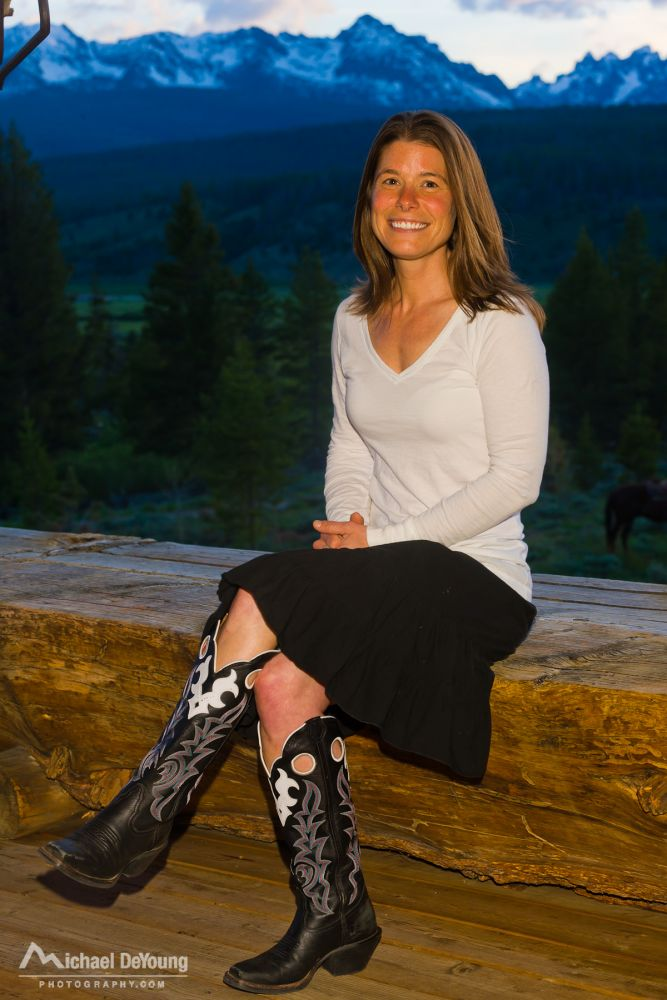 Erica's Journey to the Idaho Rocky Mountain Ranch