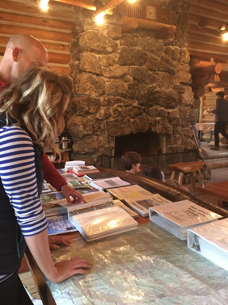Rachel and Will at Reference Table