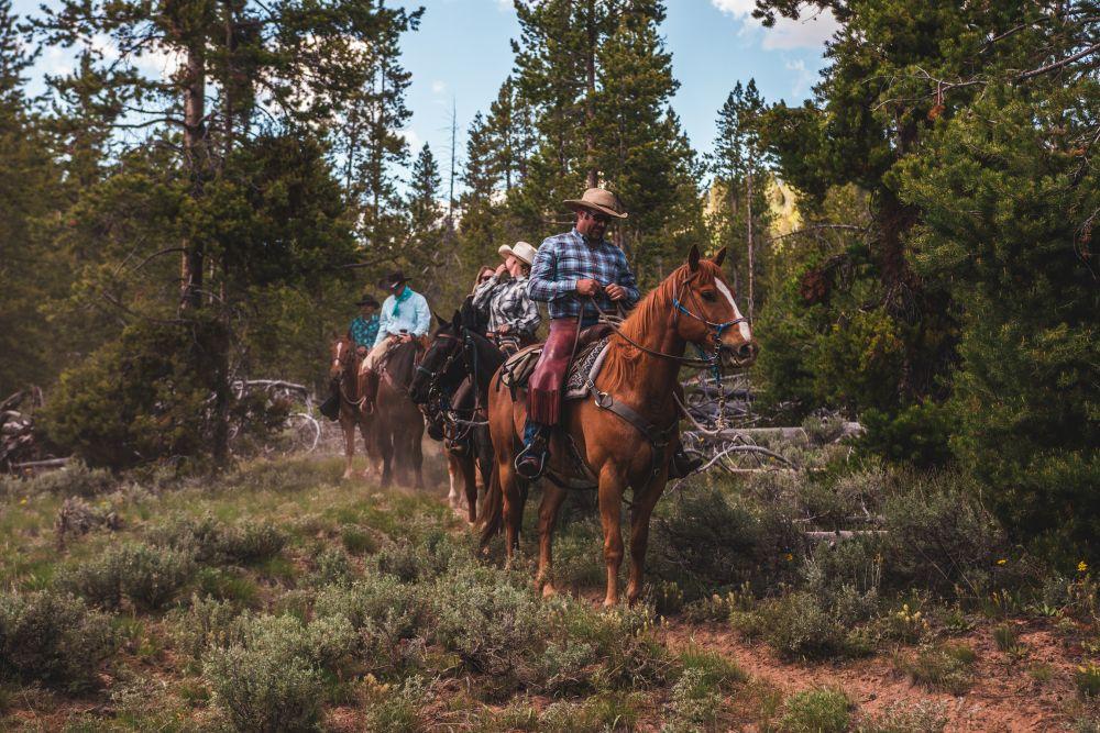 Horseback Riding led by Idaho Rocky Mountain Ranch in Idaho